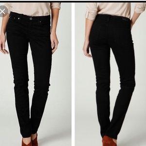 AG Stevie Black Skinny Jeans